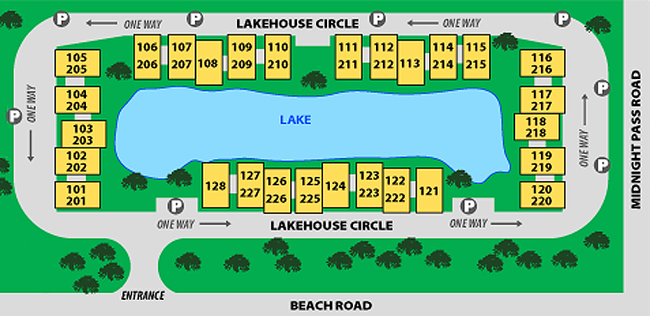 Property Map Our House At The Beach Siesta Key